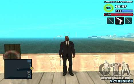 C-HUD by SampHack v10 pour GTA San Andreas