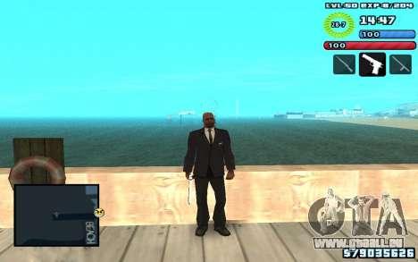 C-HUD by SampHack v10 für GTA San Andreas