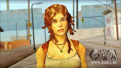 Tomb Raider Skin 7 2013 für GTA San Andreas dritten Screenshot
