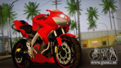 Yamaha New V-Ixion Lightning Concept Variasi für GTA San Andreas