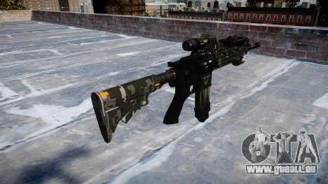 Fusil automatique Colt M4A1 ce numériques pour GTA 4 secondes d'écran