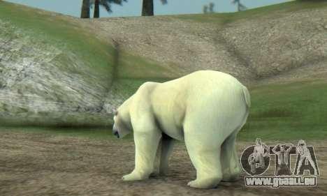 Polar Bear (Mammal) pour GTA San Andreas quatrième écran
