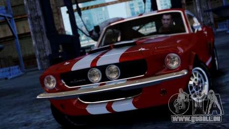 Shelby Cobra GT500 1967 pour GTA 4