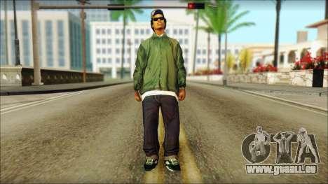 Eazy-E Green v2 für GTA San Andreas