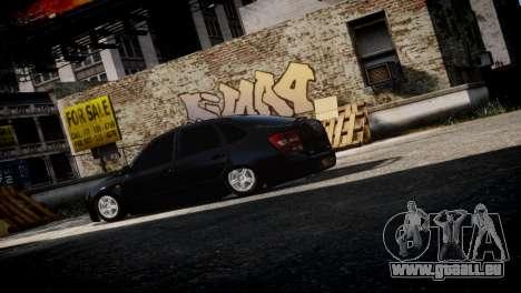 Lada Granta für GTA 4 rechte Ansicht