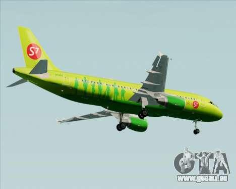 Airbus A320-214 S7-Siberia Airlines für GTA San Andreas Innenansicht
