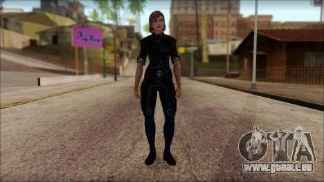 Mass Effect Anna Skin v5 pour GTA San Andreas