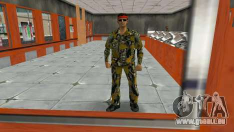 Camo Skin 16 für GTA Vice City