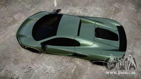 McLaren 650S Spider 2014 [EPM] Continental pour GTA 4 est un droit