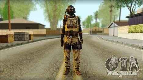 Mercenaire (SC: Blacklist) v2 pour GTA San Andreas