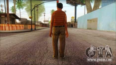 GTA 5 Ped 14 pour GTA San Andreas deuxième écran