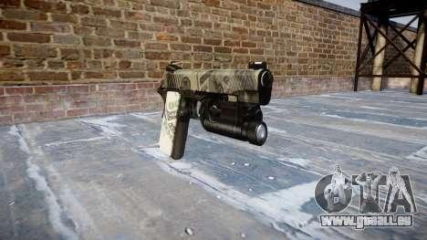Gun Kimber 1911 Benjamins für GTA 4