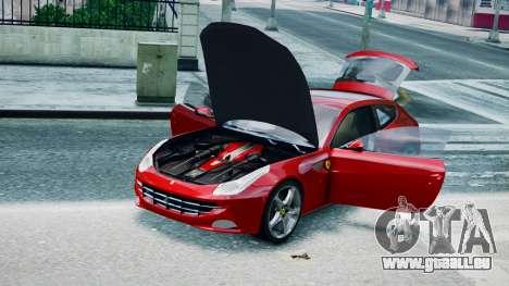 Ferrari FF pour GTA 4 Vue arrière de la gauche