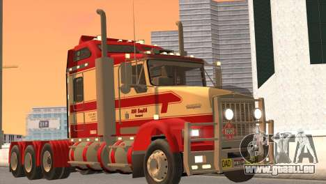 Kenworth T800 Road Train 8X6 pour GTA San Andreas