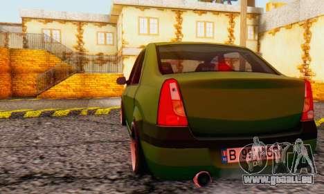 Dacia Logan MOR für GTA San Andreas rechten Ansicht