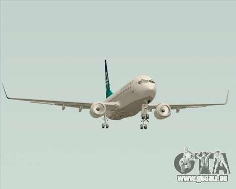 Boeing 737-800 Air New Zealand pour GTA San Andreas vue de dessus