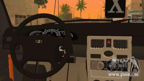 DIESE 2106 Hobo für GTA San Andreas zurück linke Ansicht