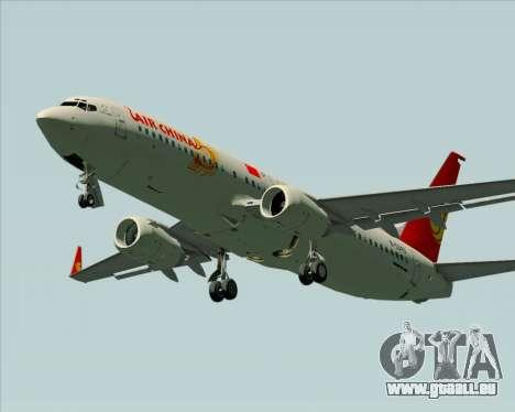 Boeing 737-89L Air China pour GTA San Andreas vue de côté