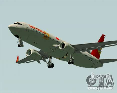 Boeing 737-89L Air China für GTA San Andreas Seitenansicht