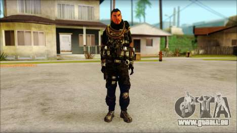 Australian Resurrection Skin from COD 5 pour GTA San Andreas