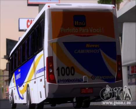 Marcopolo Ideale 770 - Volksbus 17-230 EOD pour GTA San Andreas roue