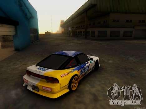 Nissan 240sx Zeetex pour GTA San Andreas laissé vue