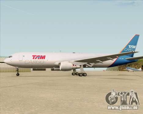 Boeing 767-300ER F TAM Cargo pour GTA San Andreas moteur