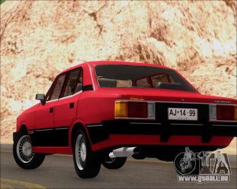 Chevrolet Opala Diplomata 1987 pour GTA San Andreas vue de côté