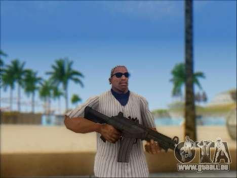 Israélien carabine ACE 21 pour GTA San Andreas onzième écran