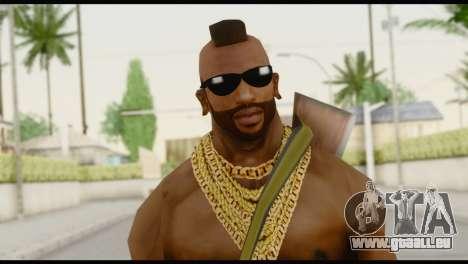 MR T Skin v7 pour GTA San Andreas troisième écran