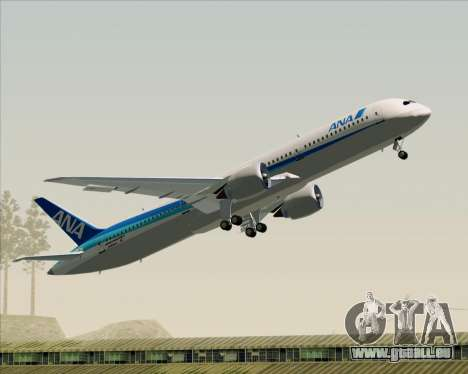 Boeing 787-9 All Nippon Airways für GTA San Andreas Innen