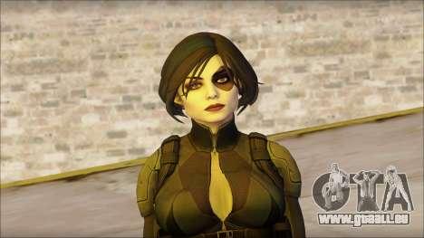 Domino Deadpool The Game Cable pour GTA San Andreas troisième écran
