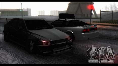 Nissan 240SX pour GTA San Andreas vue arrière