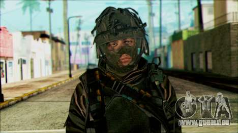 Les soldats aéroportés (CoD: MW2) v4 pour GTA San Andreas troisième écran