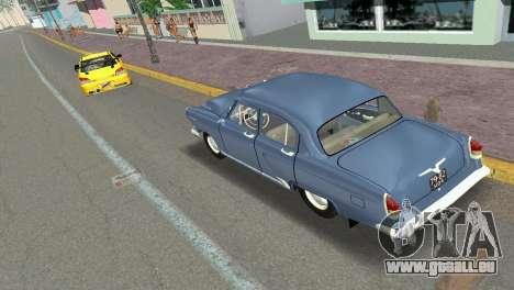 GAZ-21R Volga 1965 pour GTA Vice City vue arrière