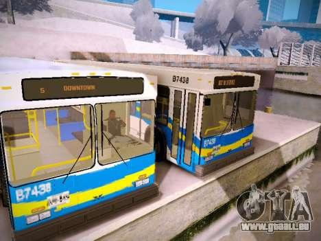 NewFlyer D40LF TransLink Vancouver BC für GTA San Andreas Seitenansicht