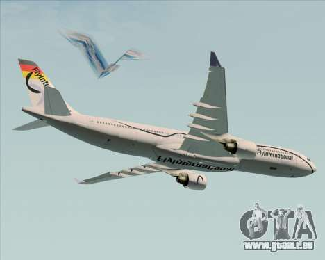 Airbus A330-300 Fly International pour GTA San Andreas moteur