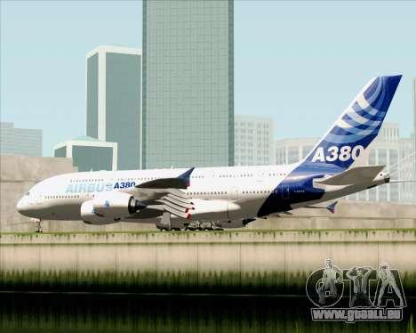 Airbus A380-861 für GTA San Andreas rechten Ansicht