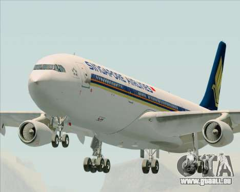 Airbus A340-313 Singapore Airlines für GTA San Andreas