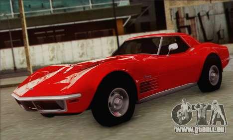 Chevrolet Corvette ZR1 1970 für GTA San Andreas