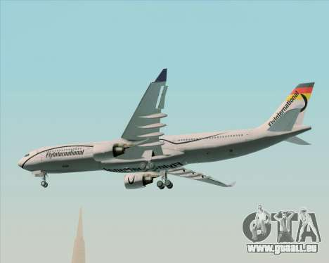 Airbus A330-300 Fly International pour GTA San Andreas vue intérieure
