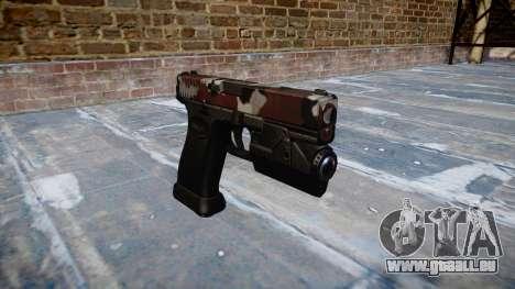 Pistole Glock 20 sind blutunterlaufen für GTA 4