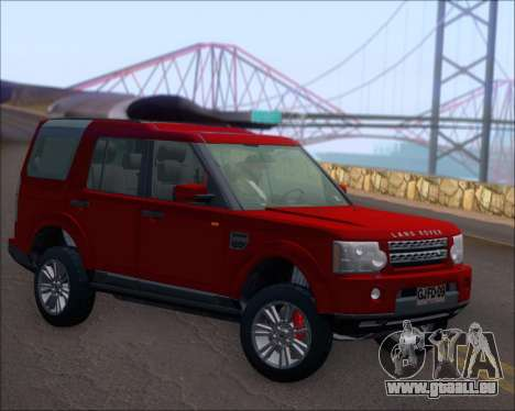 Land Rover Discovery 4 für GTA San Andreas rechten Ansicht