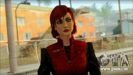 Mass Effect Anna Skin v3 für GTA San Andreas dritten Screenshot