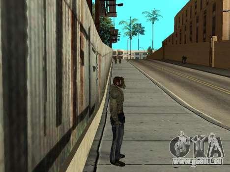 Pantalon de bandit de Stalker pour GTA San Andreas deuxième écran