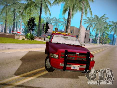 Dodge Ram Tow-Truck für GTA San Andreas