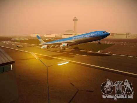 Airbus A340-300 D'Aerolineas Argentinas pour GTA San Andreas salon