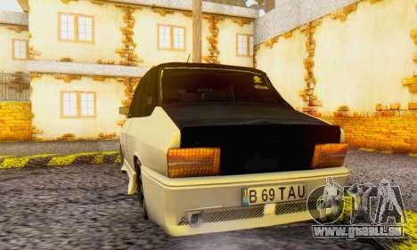 Dacia 1310 B 69 TAU pour GTA San Andreas sur la vue arrière gauche