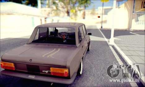Fiat 125P Shark für GTA San Andreas rechten Ansicht