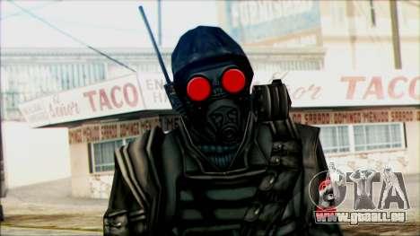 Manhunt Ped 1 pour GTA San Andreas troisième écran